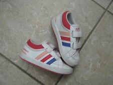 adidas Neo Halbschuhe Mädchen Gr. 22,UK 5,5 ,Schuhe,Sneakers,Klettverschluss