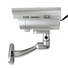 CCTV False Emulational Outdoor Fake Dummy Security Camera with IR Wireless
