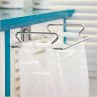 Kitchen Cabinet Trash Bags Holder Towel Storage Rack Hanging Organizer Shelf