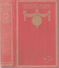 PENGUIN ISLAND by Anatole France 1909 Hc 1st Translation by Evans GILT HARDCOVER