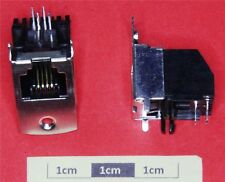 *C* RJ11 PCB Mounting Shielded Jack
