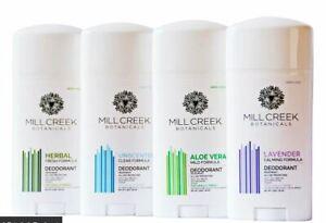 Mill Creek Botanical Deodorant Stick - No aluminium, parabens and vegan suitable