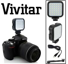 Rechargeable LED Light Set With Power Kit For Sony Alpha ILCE-6500 A6500