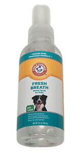 Advanced Care Dental Spray/Fresh Breath and Whitening for Dogs Teeth 4 Oz New