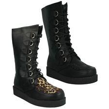 Zip Wedge Mid-Calf Boots for Women