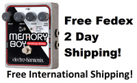 New Electro-Harmonix EHX Memory Boy Analog Delay w/ Chorus/Vibrato Effect Pedal