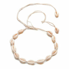 New Fashion Natural Boho Sea Shell Cowrie Beach Choker Women Necklace Jewelry