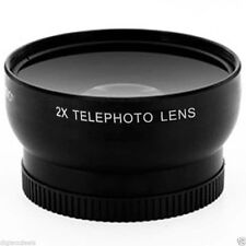 Telephoto Lens for Canon DC410 DC420 MV650 ZR10 ZR20 ZR25 ZR30 ZR40 ZR45 ZR50 MC