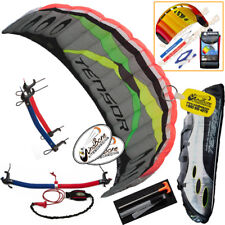 Prism Tensor 5.0 Foil Power Trainer Kite Kiteboarding Traction + Free 2nd Kite