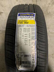 1 New 205 55 16 Goodyear Assurance Fuel Max Tire