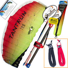 Prism Tantrum 220 Lava Foil Control Bar Power Kite + Padded Straps Accessory