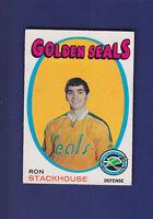 Ron Stackhouse RC 1971-72 O-PEE-CHEE OPC Hockey #83 (EXMT) Golden Seals