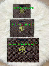New Authentic Tory Burch Shopping Paper Gift Bags - Free Shipping