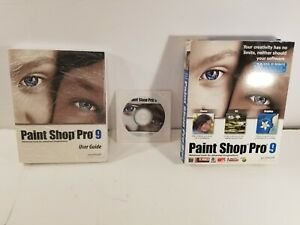 Corel Paint Shop Pro 9 (Factory sealed retail Box, box some wear)