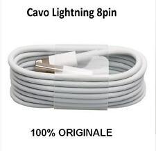 Cavo DATI Lightning 8 pin Usb iPhone 5 5s 6 6plus 7 7 plus BULK MD818 originale