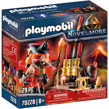 Playmobil 70228 Knights Novelmore Burnham Raiders Fire Master Playset
