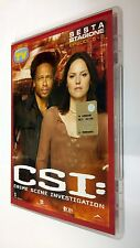 CSI Scena del crimine  Crime Scene Investigation DVD Serie TV Stagione 6 vol. 2