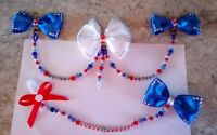 baby girl/boy personalised romany pram charm and dummy clip shamballa crystal