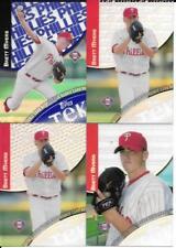 BRETT MYERS 2000 TOPPS TEK (4) CARD LOT 44-3,44-11,44-12,44-13 SERIAL #XX/2000