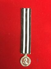"""Service Medal Of The Order Of St John Of Jerusalem Miniature With 6"""" Ribbon"""