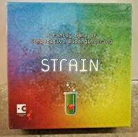 Strain Board Game Tabletop HungryRobot Virus Competitive Family Boardgame Sealed