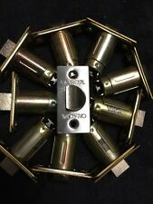 """Lot Of 10 CAL-ROYAL 2 3/4"""" SPRING LATCH Passage STAINLESS STEEL Finish"""