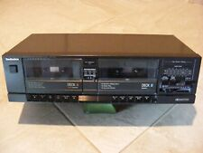 Technics Dual Cassette Deck #Rst-16 - Recorder / Player - Made in Japan