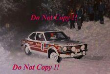 Hannu Mikkola Toyota Corolla Levin TE 27 Artic Rally 1977 Photograph