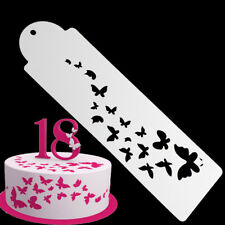 Plastic Cookie Cake Stencil Fondant Tool Decoration for Cake Wedding Butterfly