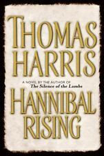 HANNIBAL RISING by Thomas Harris FREE SHIP hardcover book serial killer thriller