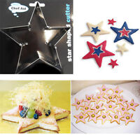 Cookie Metal Cutter STAR Shaped Biscuit Pastry Cut Baking Mould Frame Cake Mold