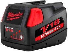Milwaukee V18 18-Volt Lithium-Ion Slide-Style Battery Pack 3.0Ah for Select V18
