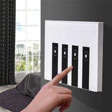 4 Gang Smart WiFi US Plug Panel RF Touch Switch Wall Control Light for  Alexa