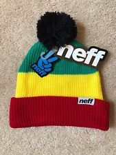 56b16dcb659 2 watching. NEFF Snappy Pom - Rasta - One Size - NEW
