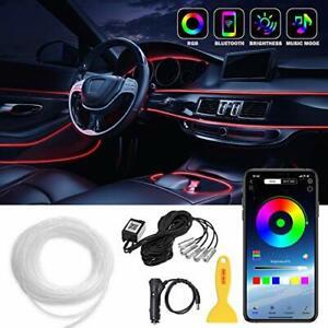 Car LED Strip Lights LEDCARE Multicolor RGB Car Interior Lights 16 Million Co...