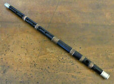 """ANTIQUE CIVIL WAR ERA ROSEWOOD FIFE 16.5"""" with SHAFT CORD WINDING for support"""