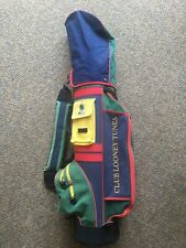 Vintage LOONEY TUNES  Collection Staff Golf bag By Disney