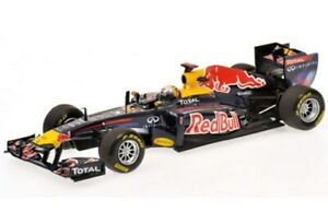 MINICHAMPS 110 100005 100105 or 110001 RED BULL F1 car Vettel 2010 2011 1:18th