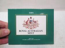 1985 Uncirculated Australian Mint Set