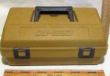 Vtg Federal ammunition case shotshell carrier ammo box rainproof plastic Du-1983