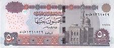 EGYPT 50 POUNDS EGP 2016 P-66 SIG/T.AMER #22 REPLACEMENT 500 (Convergent) UNC */