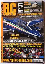 RC PILOT n°37 du 11/2006; Plan encarté Avia BH11/ ChT du monde Maquettes/ Dossie