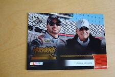 2009 Press Pass Gold #197 Jimmie Johnson/Rick Hendrick HMS Card