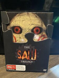 The Saw Trilogy DVD (3-Disc Set) - Genuine Region 4