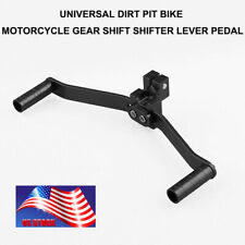 Dual/2 Way Motorcycle Aluminum Gear Shift Lever Footrest Pedal Shifter US STOCK