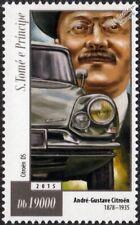 André-Gustave Citroën & CITROEN DS Classic Car Stamp (2015)