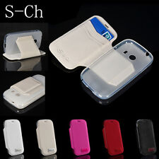 For Samsung Galaxy Ace SM-G310HN Stand Wallet TPU Leather Flip Card Case Cover