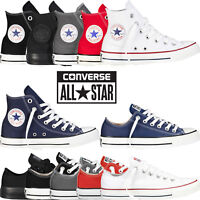 Converse All Star Chuck Taylor Mens Womens Unisex High Hi Lo Tops Trainers Pumps
