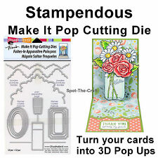 Stampendous ~ Make It Pop Cutting Dies ~ Make Your Own Pop Ups