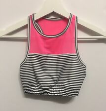 SO Authentic American Heritage Sportsbra Dance Top Women's Size XS